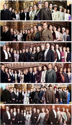 The end of an era - Downton Abbey series 1 - 6 ..