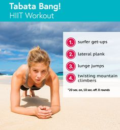 HIIT Workout Tabata Bang