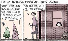 The unorphaned children's book heroine - tom gauld