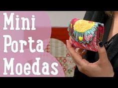 Mini Porta Moedas - Costura Comigo - YouTube
