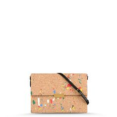 Stella McCartney - Beckett Cork Shoulder Bag - Shop at the official Online Store