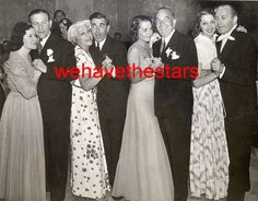 George & Gracie, Ida & Eddie Cantor, Ruby & Al Jolson and Mary & Jack Benny Jack Benny, George Burns, Celebrities Then And Now, Old Time Radio, Vintage Hollywood, Classic Movies, 1920s, Actors & Actresses, Movie Tv