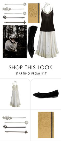 """""""out in the forest"""" by spacemermalien ❤ liked on Polyvore featuring Material Girl, Calypso St. Barth, Breckelle's, Henri Bendel, Christian Lacroix, La Perla, boho, witch, wicca and witchy"""