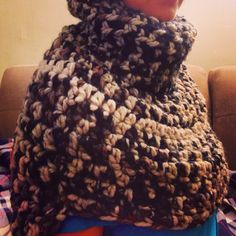 Crochet knit poncho  Handmade  http://www.etsy.com/shop/paCkbAby