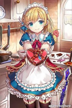 Image result for maid cafe anime blue