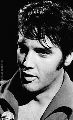 Elvis during rehearsals for the '68 Comeback Special, June 27, 1968.