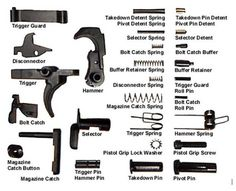 Learn more about one of the most popular rifles, the This article focuses on the AR 15 lower receiver and ammunition. Ar Parts, Ar Rifle, Ar 15 Builds, Ar Pistol, Revolver Pistol, Ar Build, Lower Receiver, Guns And Ammo, Weapons Guns