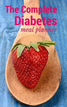 The Complete Diabetes Meal Planner