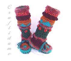 free crochet pattern converse adult slippers   How To Crochet Slippers – Easy To Make Crochet Slippers – Patterns