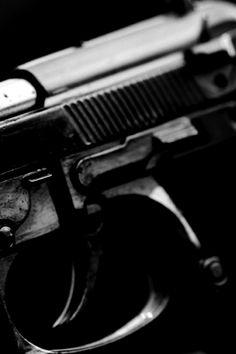 Semi auto pistol.