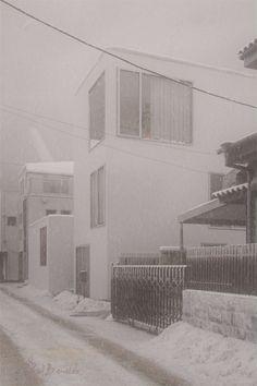Making of Moriyama House In The Snowfall by Vid Benišek