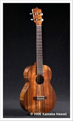 This is one gorgeous ukulele. The Kamaka story is so interesting too. Check out the PBS documentary...