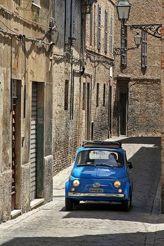 They stopped making great little cars and they also stopped making great little narrow roads.