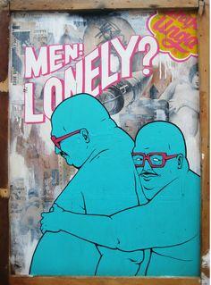 Graffiti, street art and poster designs of 4-man art collective, Broken Fingaz.