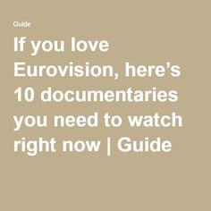 eurovision sbs tv guide