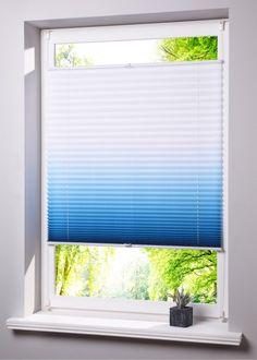 wyjątkowe plisy - niebieskie plisy - plisy ombre - gra światłem