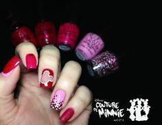 Fashion Polish: Minnie's Closet OPI Minnie Couture Nail Art!