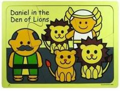 Daniel In The Lions Den Wooden Puzzle | | NestLearning.com