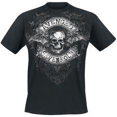 Stars Flourish - Avenged Sevenfold - T-paita Avenged Sevenfold, Flourish, Stars, My Style, Mens Tops, T Shirt, Clothes, Music, Design