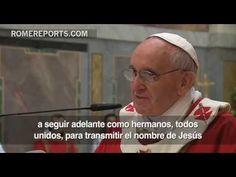 """El Papa celebra su santo con cardenales: """"Es absurdo querer vivir con Jesús sin la Iglesia"""""""