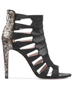 Shimmery Stilettos: Party in the back! VINCE CAMUTO #heels #sandals #macys BUY NOW!