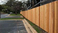 6 foot cedar privacy fence