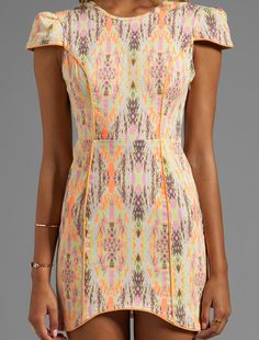 love it from the shoulders to the hem lime and everything in between. Pretty little dress.