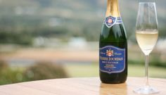 Pierre Jourdan - Method Cap Classique - our South African version of Champagne.  One of the staples in the country - great with Sashimi.  Find Pierre Jourdan on the Route 62 wine route - direction Robertson - about 1 1/2 hours from Cape Town.  The whole route is an experience - the people are known for their exceptional warmth.  Many farm stalls, craft stores en route.