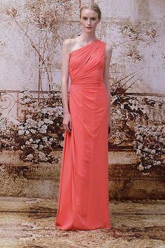 Monique Lhuillier Bridesmaid Dresses Runway Show, Fall 2014