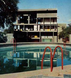 Le Corbusier, Villa Shodhan, Ahmedabad, India, 1951