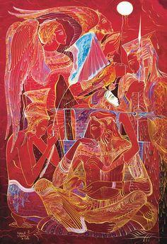Oil Painting by Rusudan Petviashvili