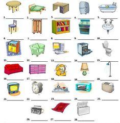 83 Ideas De Casas Y Muebles En 2021 Partes De La Casa Clase De Español Enseñando Español