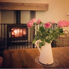 "🌷 A N N A 🌷 on Instagram: ""🌷 F R I Y A Y 🌷 it's been the longest of weeks... so looking forward to a quiet weekend with the girls! What are you lovely lot looking…"" Log Burner, Girls, Instagram, Toddler Girls, Wood Burning Heaters, Daughters, Wood Furnace, Maids"