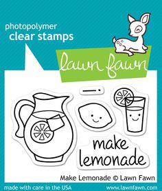 make lemonade | Lawn Fawn