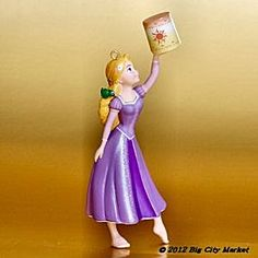 Day 15 - Decorate the tree with NEW ornaments: Hallmark Disney Tangled - It's All About The Hair