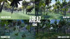 #Areaz game celebrating One Year of Early Access Anniversary. Check out map changes - jungle area.