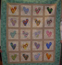 Flip flop quilt by Creames | Quilting Ideas