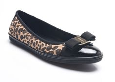 Salvatore Ferragamo Women Suede Rufina Ballerina Flat Black Cheetah ** Want to know more, click on the image.