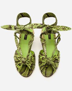 Green Sandals, Women's Shoes Sandals, Wedge Sandals, Heels, Exclusive Collection, Python, Wicker, Shopping Bag, Abs