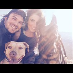The Most Aww-Inspiring Celebrity Couples on Instagram - Ian Somerhalder + Nikki Reed from #InStyle