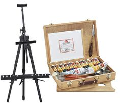 ARTIST TABLE TOP DISPLAY ART EASEL CANVAS 500mm