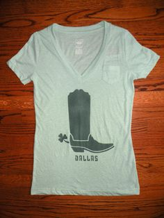 Dallas St Patty's Day Shirt by BRCD on Etsy, $25.00