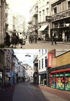 Toen & Nu Arnhem Arnhem Grote Oord, 1956 en 2014 (jaartal: 1950 tot 1960) - Foto's SERC