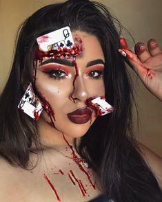 Halloween Makeup Blood, Blood Makeup, Amazing Halloween Makeup, Halloween Spaventoso, Creepy Makeup, Horror Makeup, Costumes Duo, Special Effects Makeup Gore, Spx Makeup
