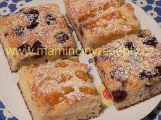 Jogurtová buchta Czech Recipes, French Toast, Baking, Breakfast, Sweet, Czech Food, Fit, Decor, Kuchen