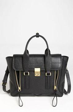 repinning this bc i am stalking. damn, she looks good! 3.1 Phillip Lim 'Pashli - Medium' Leather Satchel