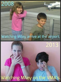 Miley: Then and Now