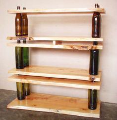 It oughtta be easy to make this bookshelf... in about two weeks. No wait, I'll have a party and speed up the process.