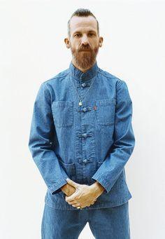 Supreme Kung Fu Denim Jacket