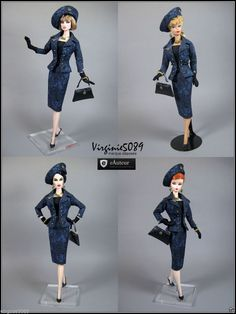 Tenue Outfit Accessoires Pour Barbie Silkstone Vintage Fashion Royalty 1131   eBay